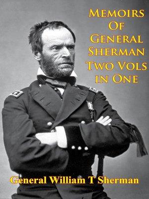 cover image of Memoirs of General Sherman