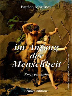 cover image of Im Anfang der Menschheit