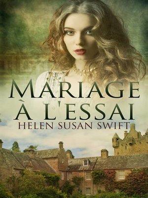 cover image of Mariage à l'essai