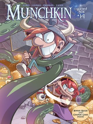 cover image of Munchkin (2015), Issue 14
