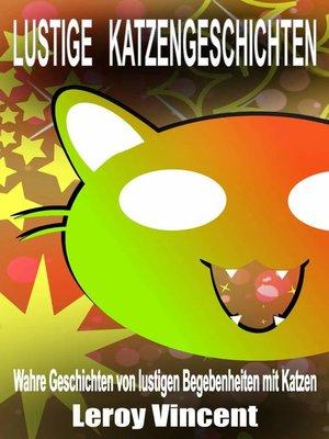 cover image of Lustige Katzengeschichten