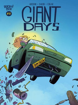 cover image of Giant Days (2015), Issue 47