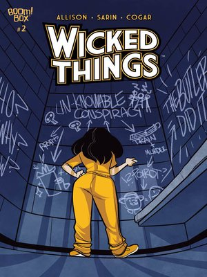 cover image of Wicked Things, Issue 2
