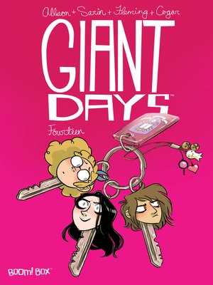 cover image of Giant Days (2015), Issue 14