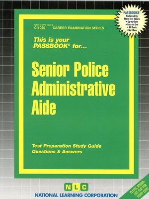 cover image of Senior Police Administrative Aide