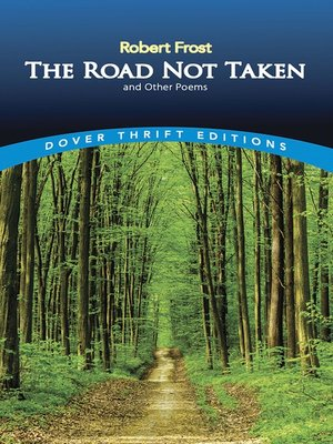 cover image of The Road Not Taken and Other Poems