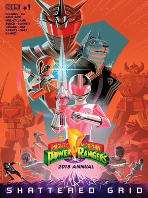 cover image of Mighty Morphin Power Rangers 2018 Annual, Issue 1