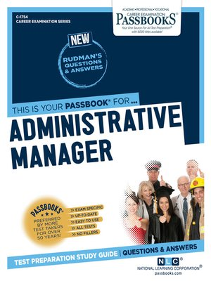 cover image of Administrative Manager