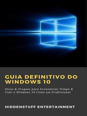 cover image of Guia Definitivo do Windows 10