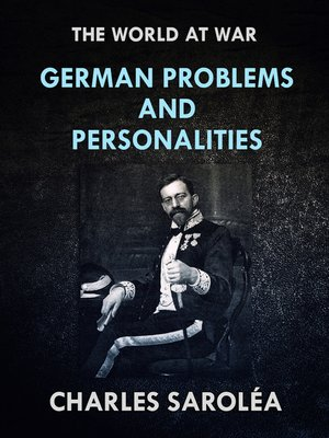 cover image of German Problems and Personalities