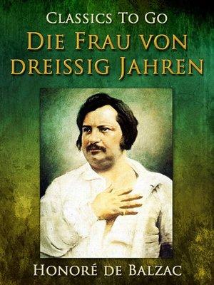 cover image of Die Frau von dreißig Jahren