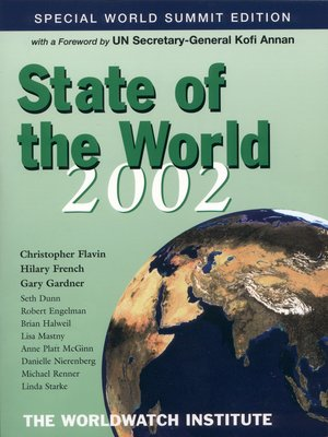 cover image of State of the World 2002