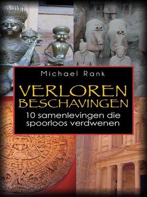 cover image of Verloren Beschavingen