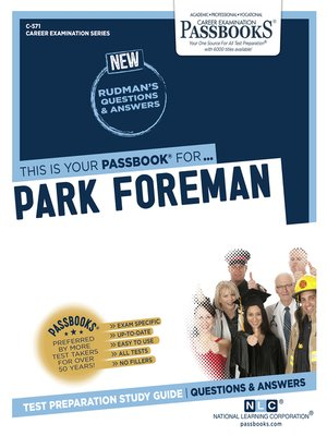 cover image of Park Foreman