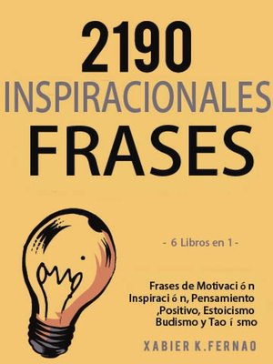 cover image of 2190 Frases Inspiracionales