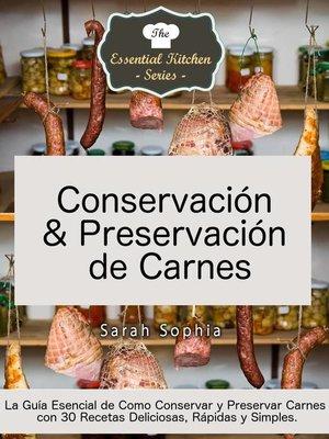 cover image of Conservación & Preservación de Carnes