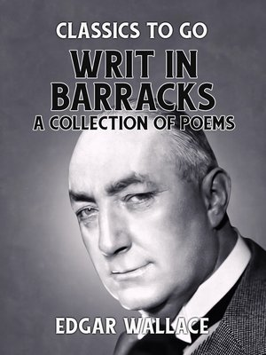 cover image of Writ in Barracks a Collection of Poems