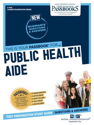 cover image of Public Health Aide