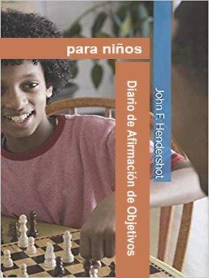 cover image of Diario de Afirmación de Objetivos para niños