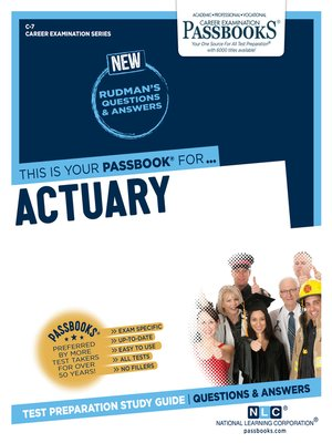 cover image of Actuary