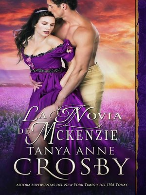 cover image of La novia de McKenzie