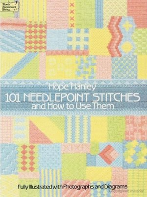 cover image of 101 Needlepoint Stitches and How to Use Them