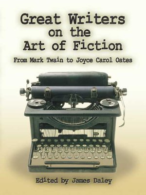 cover image of Great Writers on the Art of Fiction
