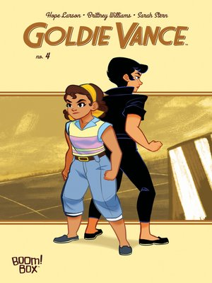 cover image of Goldie Vance #4