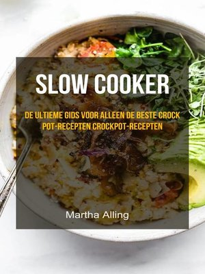 cover image of slow cooker