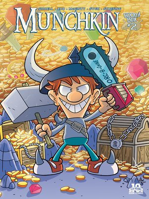 cover image of Munchkin (2015), Issue 2