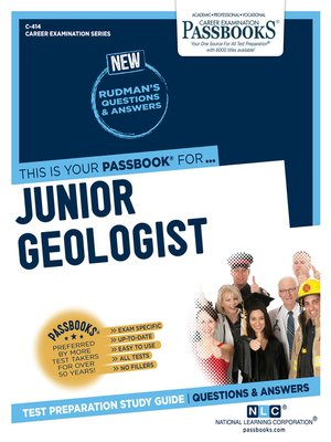 cover image of Junior Geologist