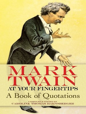 cover image of Mark Twain at Your Fingertips