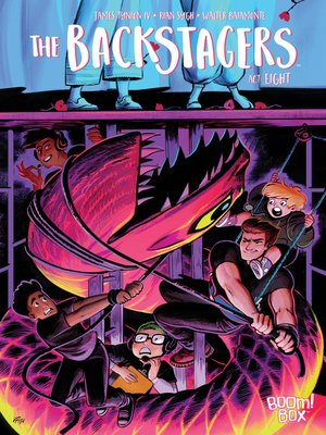 cover image of The Backstagers (2016), Issue 8