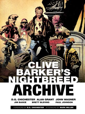 cover image of Clive Barker's Nightbreed Archive