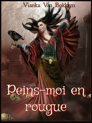 cover image of Peins-moi en rouge