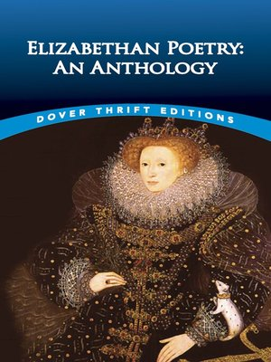 cover image of Elizabethan Poetry