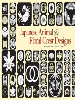 cover image of Japanese Animal and Floral Crest Designs