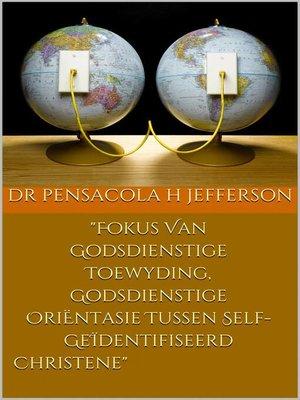 cover image of Fokus Van Godsdienstige Toewyding, Godsdienstige OriËntasie Tussen Self-GeÏdentifiseerde Christene