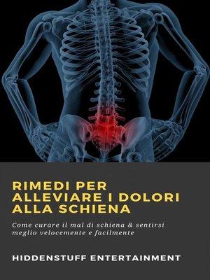 cover image of Rimedi per alleviare i dolori alla schiena