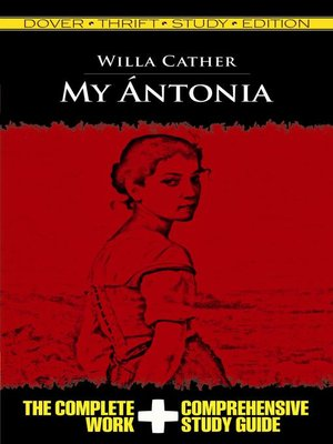 cover image of My Antonia Thrift Study Edition