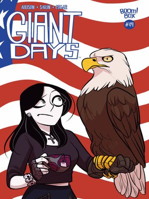 cover image of Giant Days (2015), Issue 49