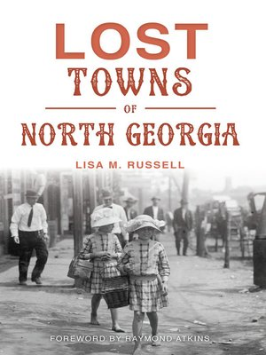 cover image of Lost Towns of North Georgia