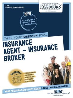 cover image of Insurance Agent – Insurance Broker