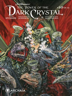 cover image of The Power of the Dark Crystal (2017), Issue 10