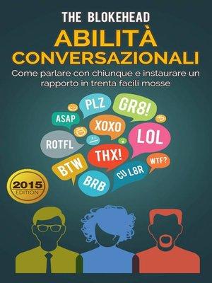 cover image of Abilità conversazionali