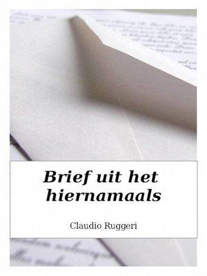 cover image of Brief uit het hiernamaals
