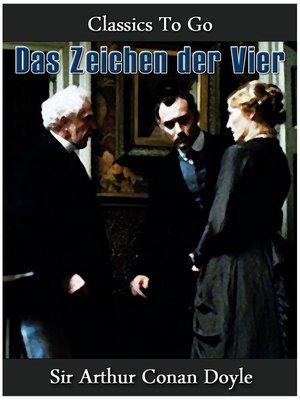 cover image of Das Zeichen der Vier