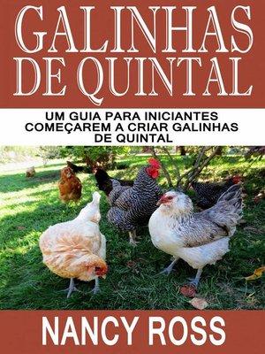 cover image of Galinhas de quintal