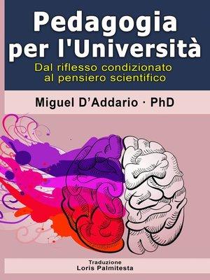 cover image of Pedagogia per L'Università