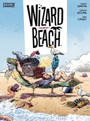cover image of Wizard Beach, Issue 1